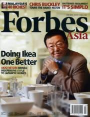 FORBES ASIA封面